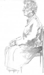 The late Mrs Sal George, 6 Marlais View, in 2009