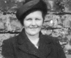 Mrs S G Evans, from a family photograph taken around 1950.