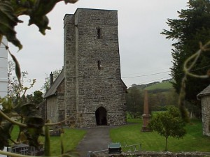 St Sawyls, viewed from the churchyard gate.